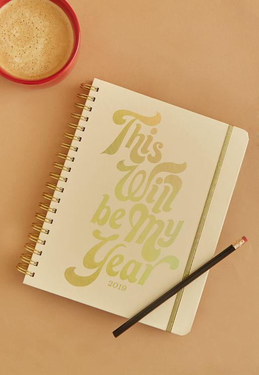 """This Will Be My Year"" Calendar Planner"