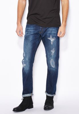 G-Star Raw Neya Tapered Relaxed Mid Wash Jeans