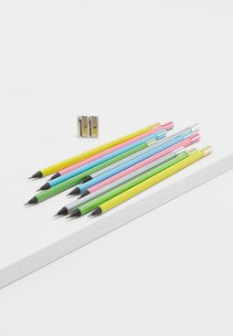 Ten Pack Box Of Sherbet Pencil