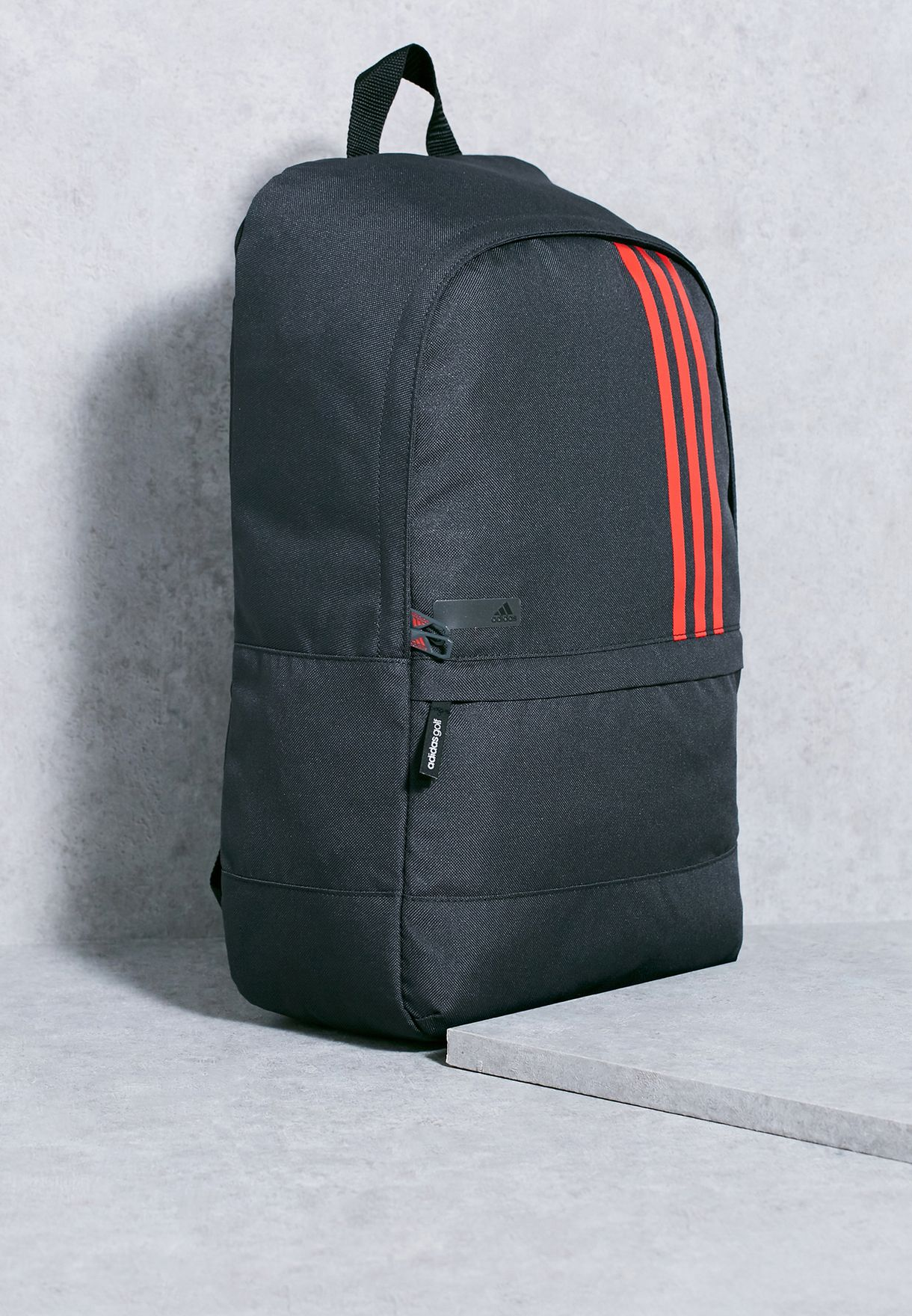 Shop adidas grey Small 3 Stripe Backpack BC2240 for Men in Kuwait -  AD476AC68LHB 5256f402cbe01