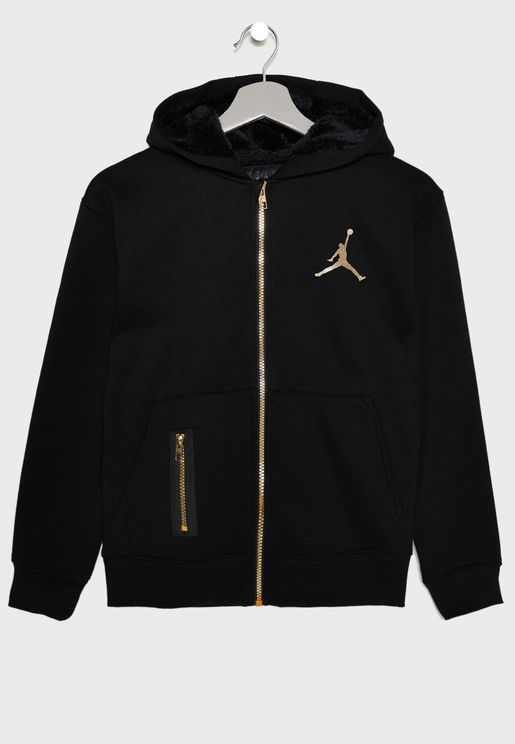 Youth Jordan Metal Man Hoodie