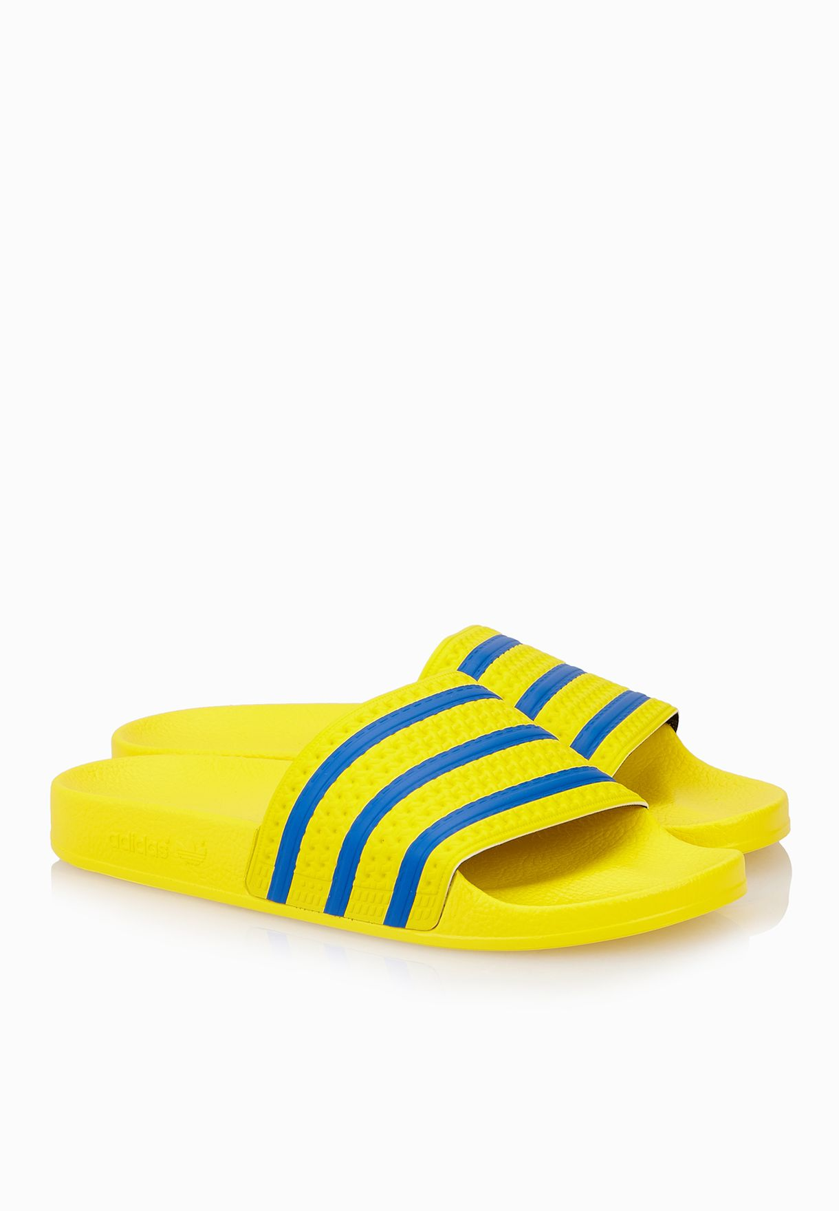 5a7331e147e5 Shop adidas Originals yellow Adilette S78677 for Men in UAE ...