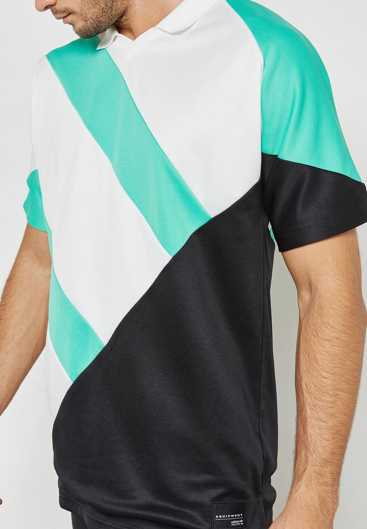 Pesimista Precipicio Para exponer  Buy adidas Originals multicolor EQT 18 T-Shirt for Men in MENA, Worldwide    CD6846
