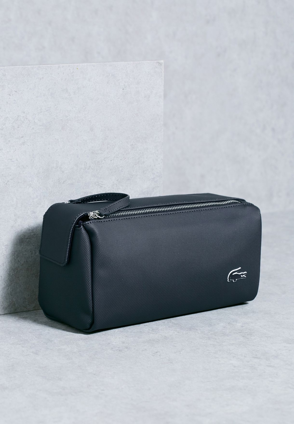 travel bag Toiletries Bag Lacoste Wash Bag in Navy Blue