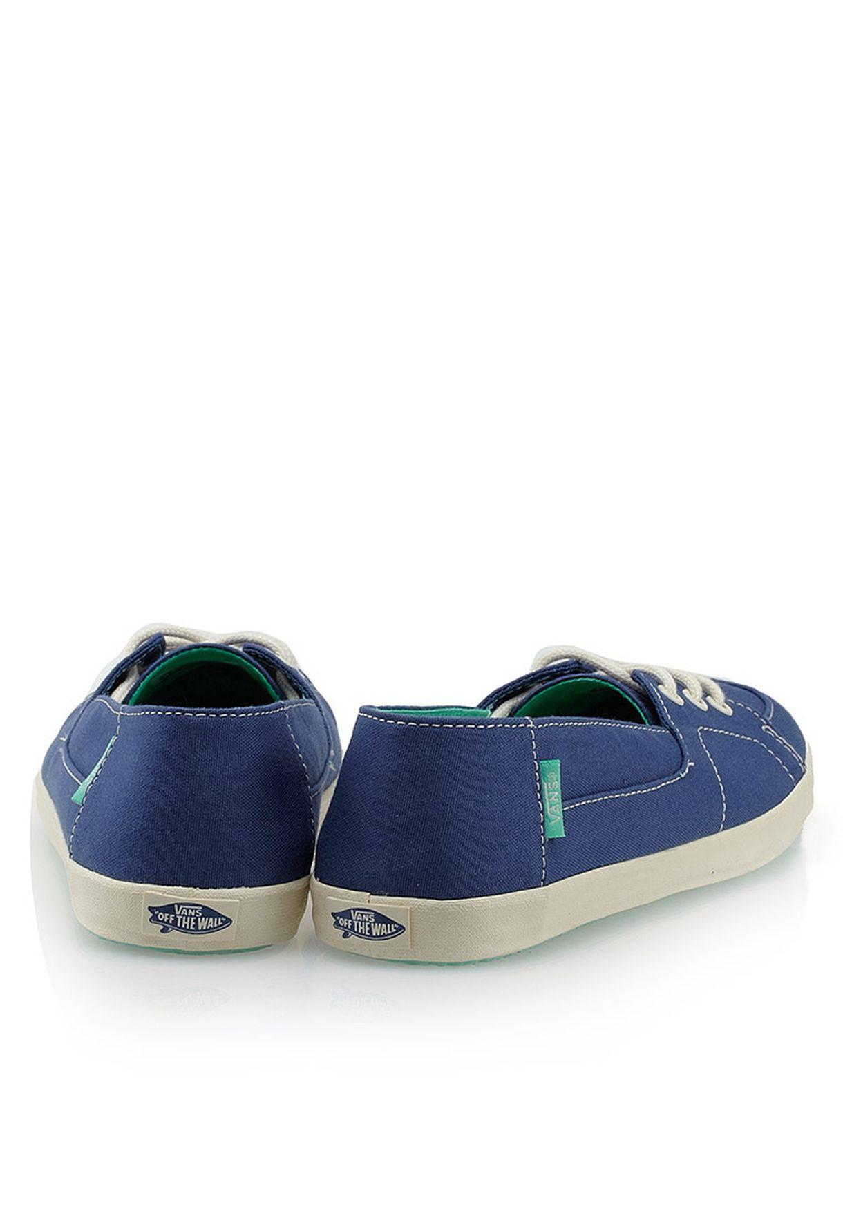 01ab75f92e Shop Vans blue Palisades Vulc Slip Ons for Women in Kuwait ...