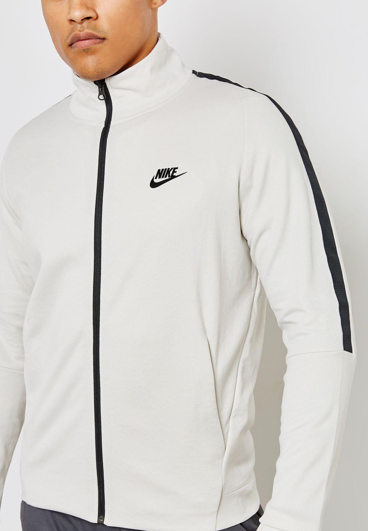 Buy Nike White N98 Tribute Jacket for Men in Mena, Worldwide
