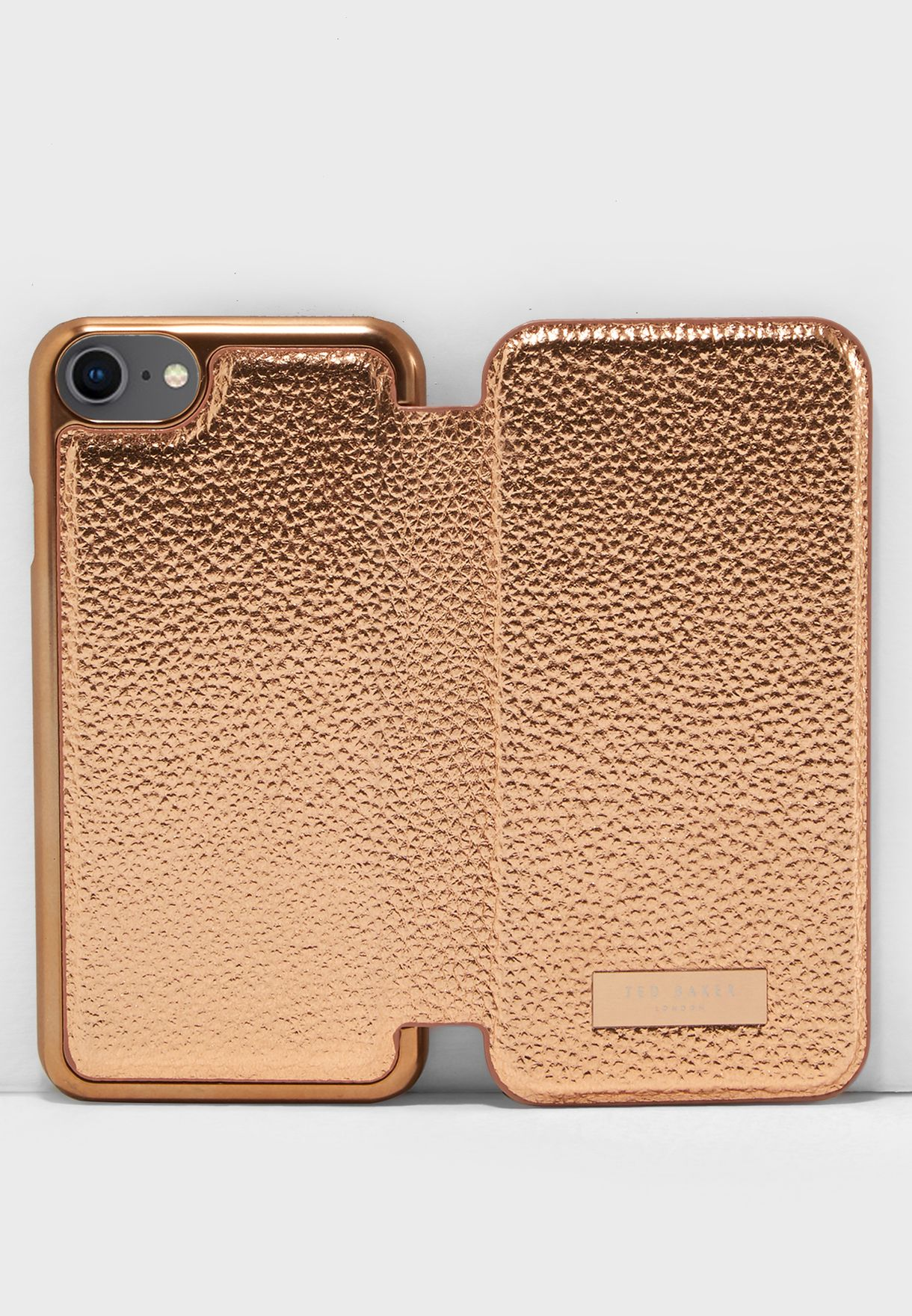 4449260dc Shop Ted baker gold Cedar Textured Case for iPhone 6 7 8 141115 for ...