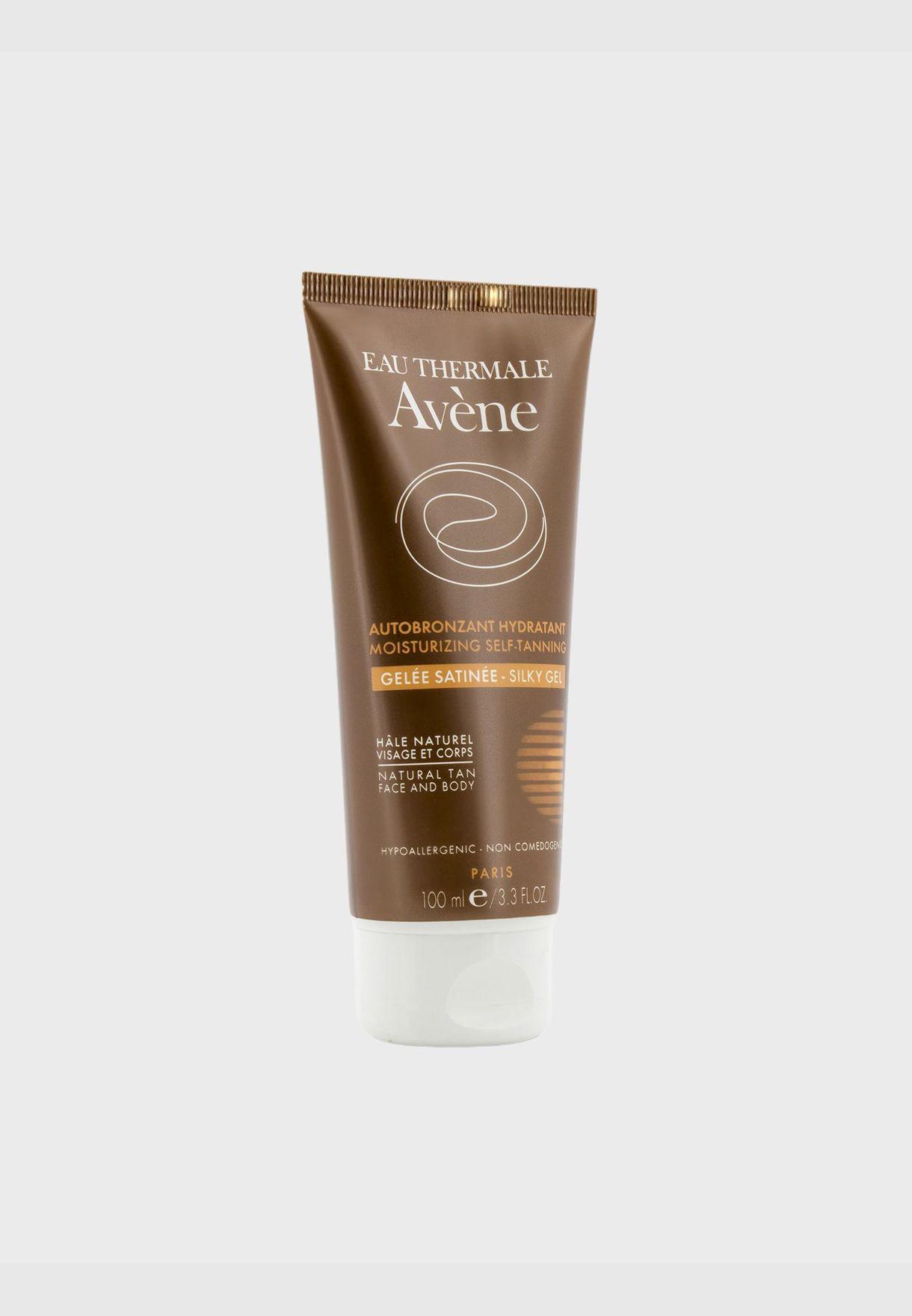 Moisturizing Self-Tanning Silky Gel For Face & Body - For Sensitive Skin