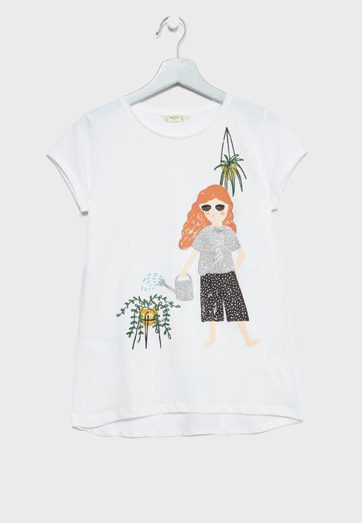 Little Plantlo T-Shirt