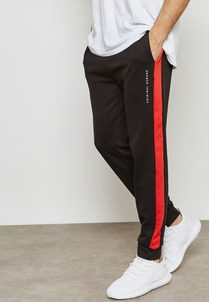 Hater Striped Sweatpants