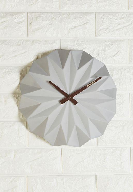 Geo Wall Clock