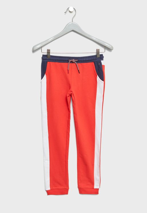 Teen Side Stripe Sweatpants