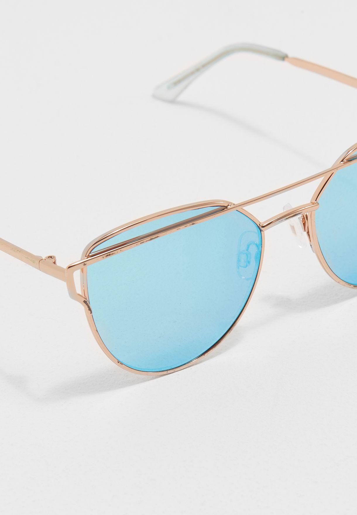 053b4d5cfc68 Shop Aldo gold Qilalla Sunglasses QILALLA2 for Women in Saudi ...