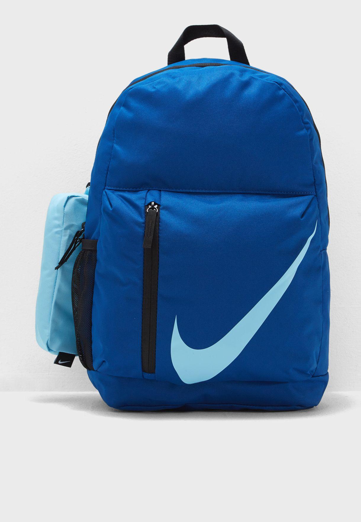 46b9a346dde2 Shop Nike blue Elemental Backpack BA5405-431 for Kids in UAE ...