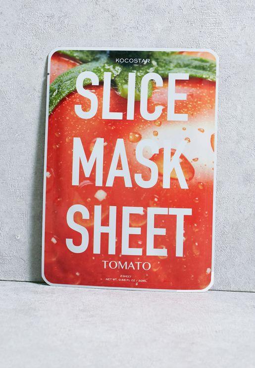 ماسك شرائح الطماطم للعناية بالبشرة