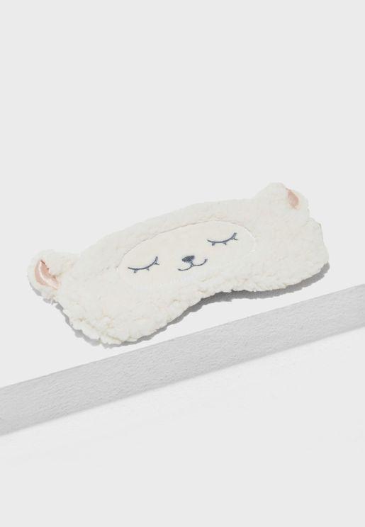 Fluffy LLama Eyemask