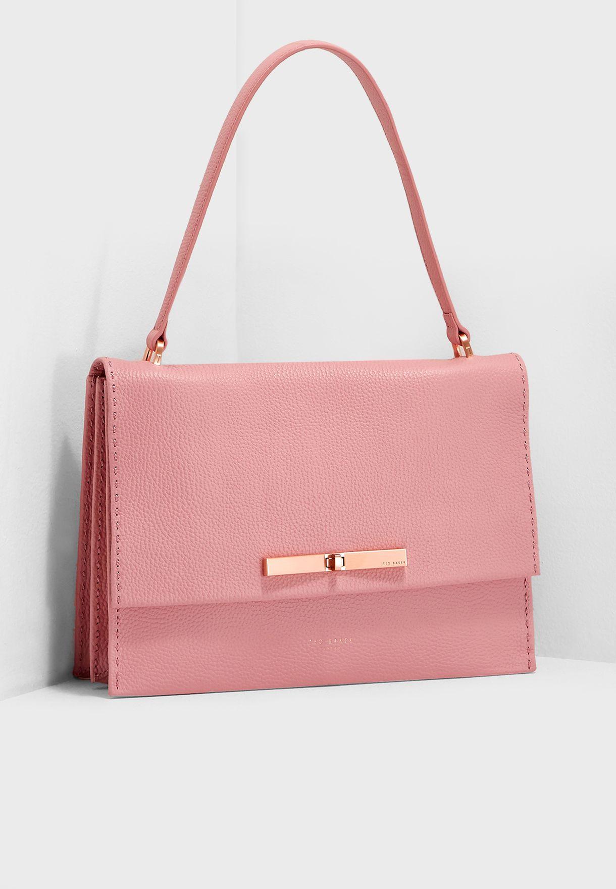 abdcd6814055 Shop Ted baker pink Jessi Concertina Satchel 147546 for Women in Saudi -  TE456AC58XZT