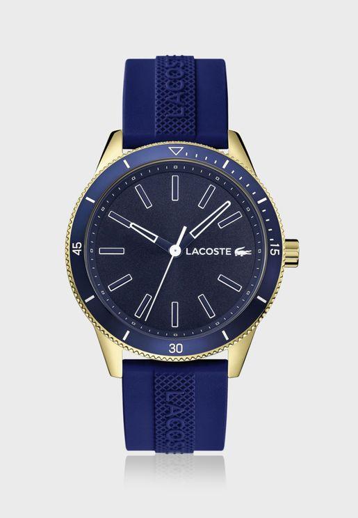 ساعة لاكوست كي ويست بسوار سيليكون للرجال - 2011008