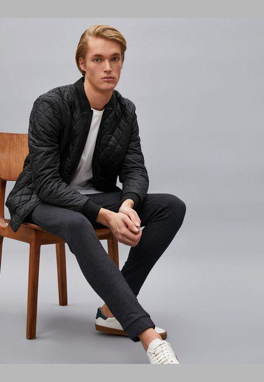 Cotton Drawstring Pocket Detailed Sweat Pants