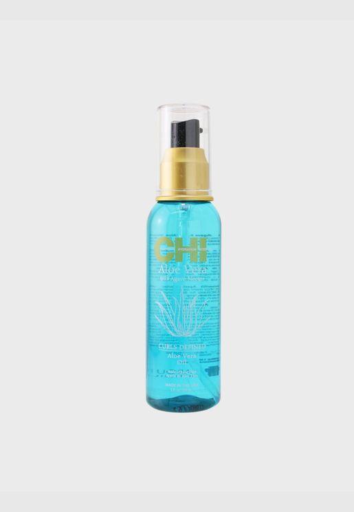 Aloe Vera with Agave Nectar Curls Defined Aloe Vera Oil