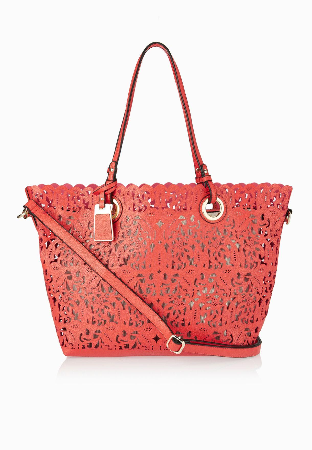 76f06163802 Shop Aldo red Montemesola Tote for Women in Bahrain - AL729AC58CXH