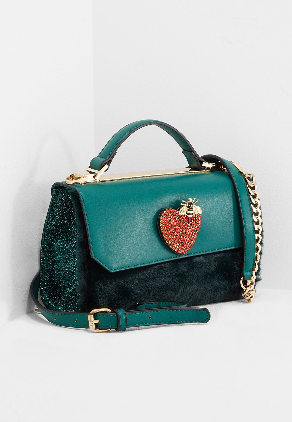 c47e733967a Shop Aldo green Thauma Shoulder Bag THAUMA46 for Women in UAE - AL729AC58TTL