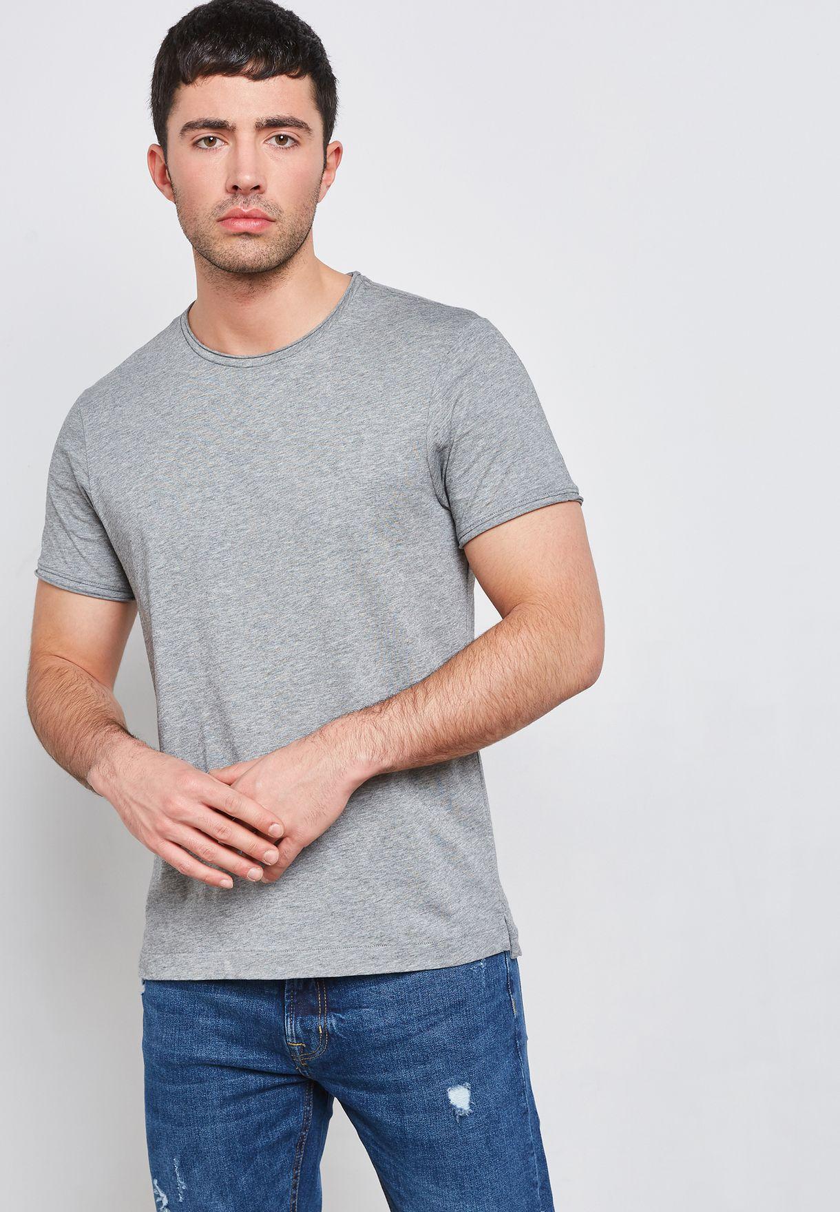 Basic Crew Neck T-Shirt