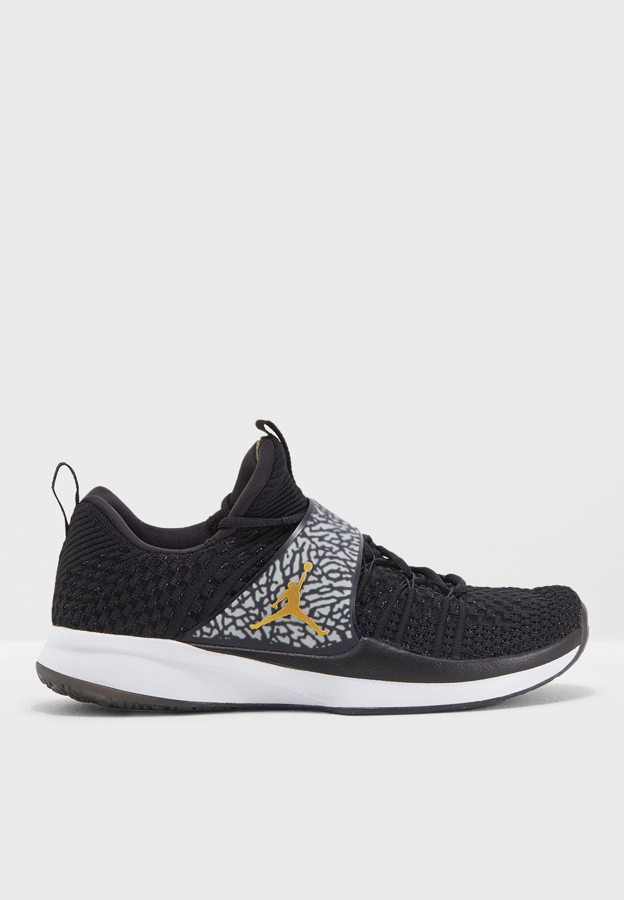 9dd526f0e023 Shop Nike black Jordan Trainer 2 Flyknit 921210-021 for Men in UAE ...