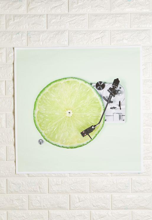 Vitamin Artwork 56x56cm