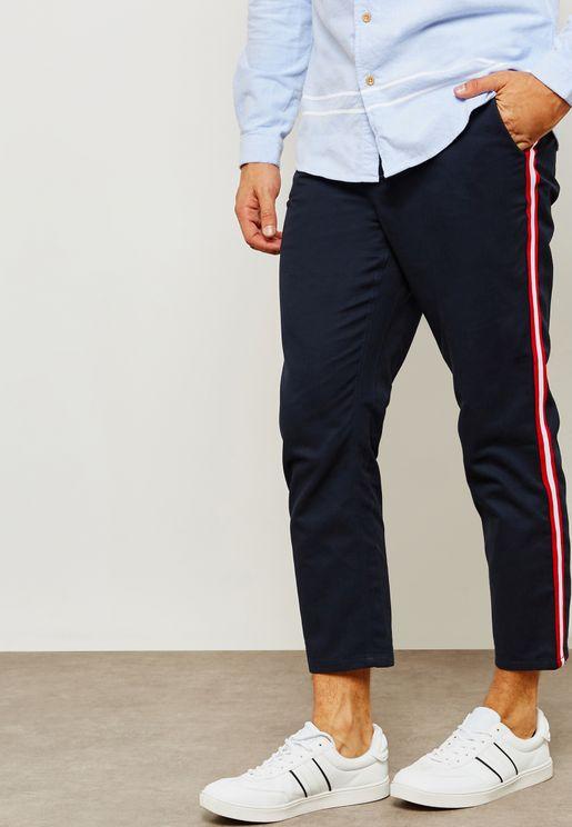 Hornbeam Tape Seam Cropped Pants