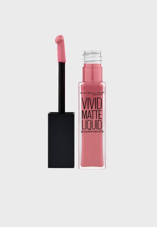 Color Sensational Vivid Matte Liquid Lip Gloss 05 Nude