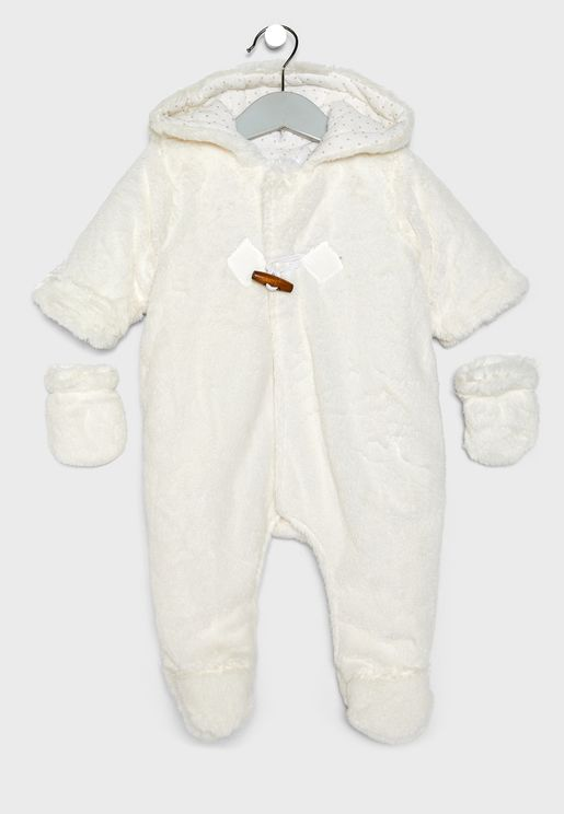 Infant Fur Bodysuit