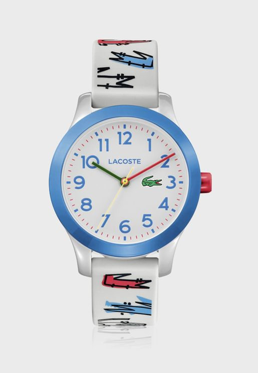 Lacoste L12.12 Silicone Strap Watch for Boys - 2030021