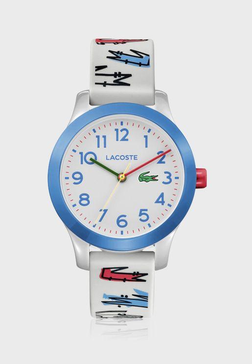ساعة لاكوست L12.12 للأولاد بسوار سيليكون - 2030021