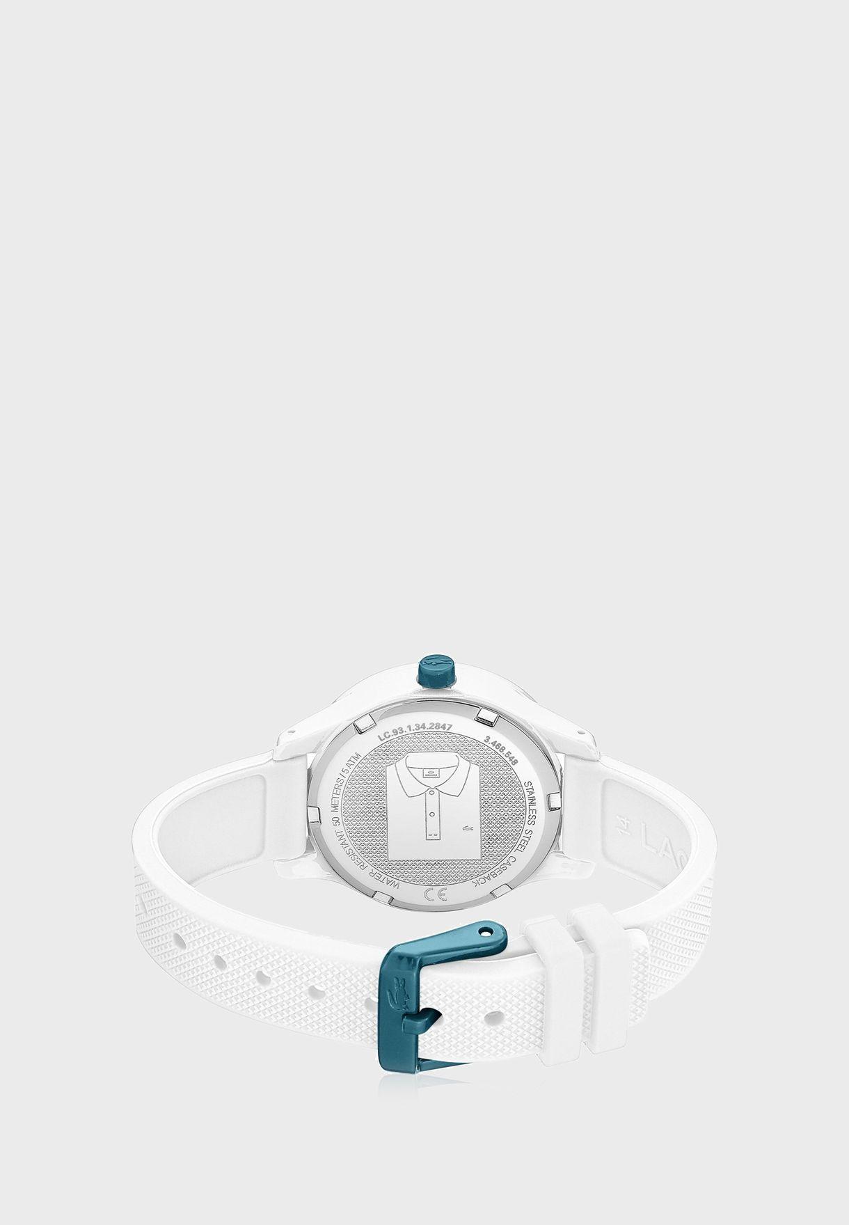 ساعة لاكوست L12.12 للأولاد بسوار سيليكون - 2030017