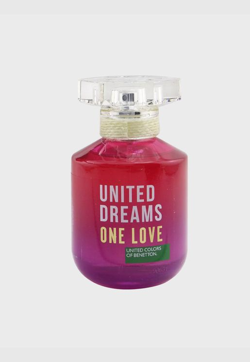 United Dreams One Love ماء تواليت سبراي ( دفعة 2019 )