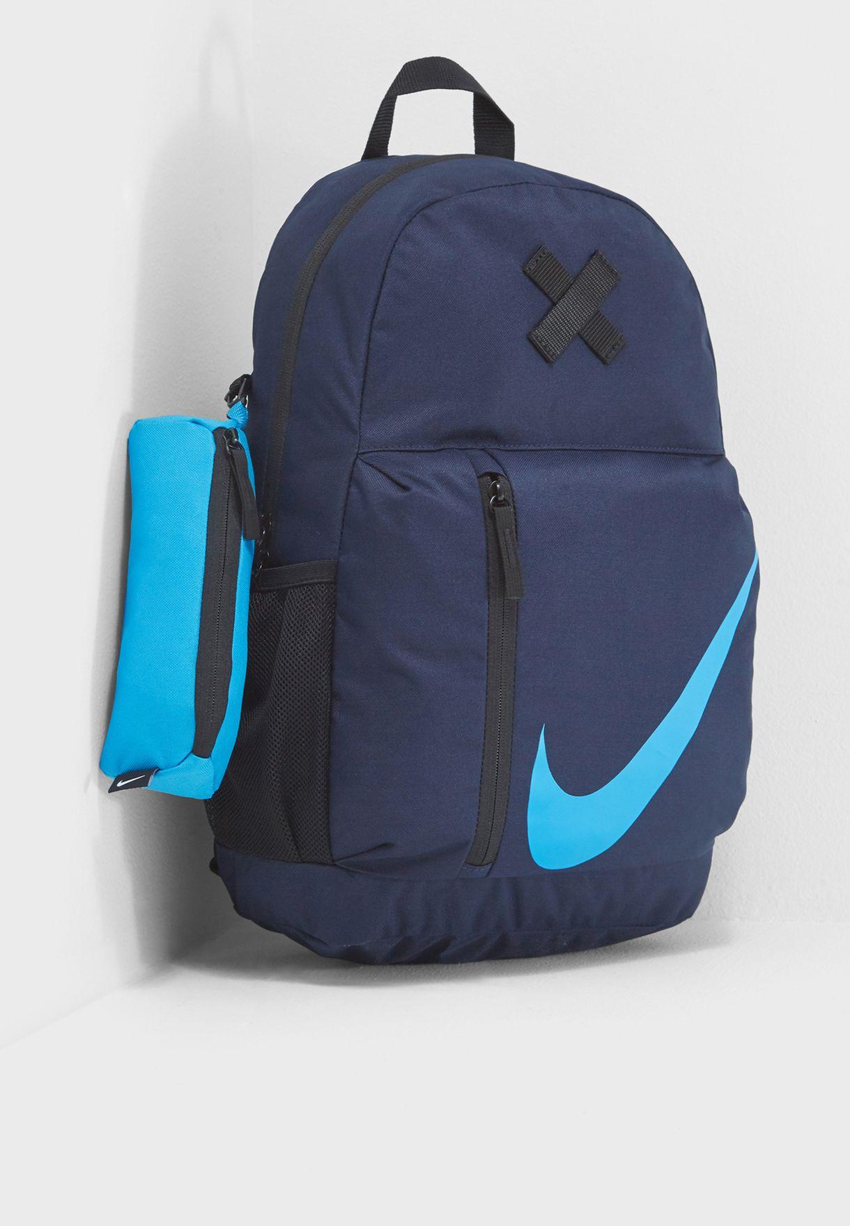 5e7f7846471d Shop Nike navy Elemental Backpack BA5405-452 for Kids in UAE ...