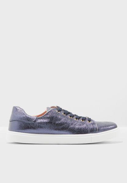 Cosmo Metallic Lace Sneaker