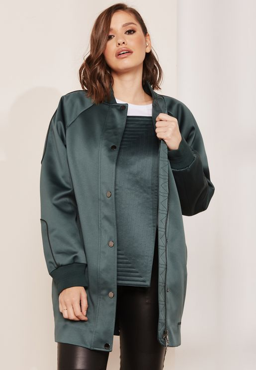 Longline Stitched Jacket
