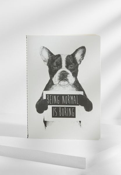 A5 Being Normal Is Boring Notebook