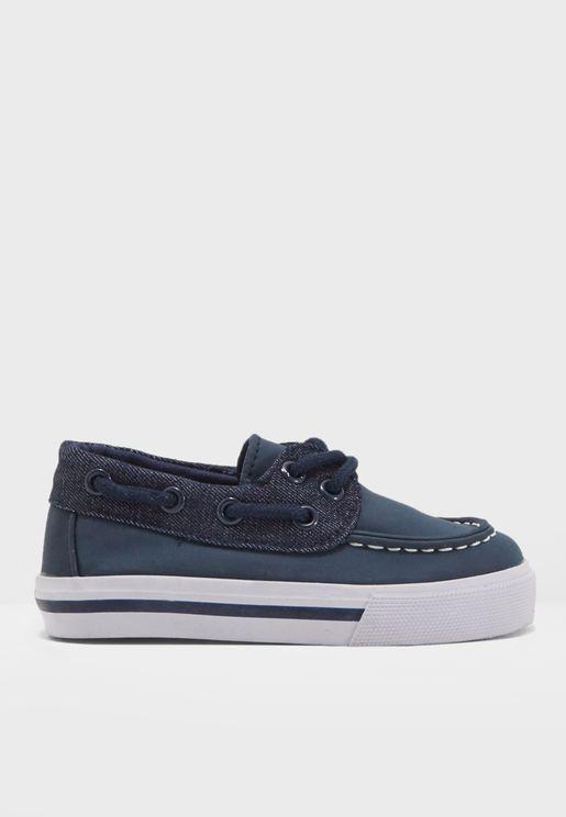 Kids Boat Shoe