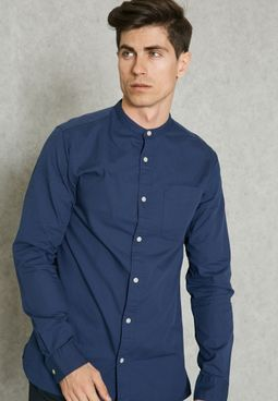 Kevin Nehru Collar Shirt
