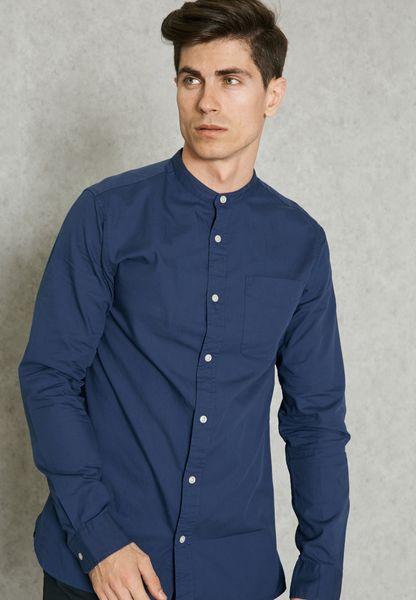 Kevin Nehru Collar Shirt