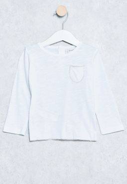 Infant Chest-pocket T-Shirt