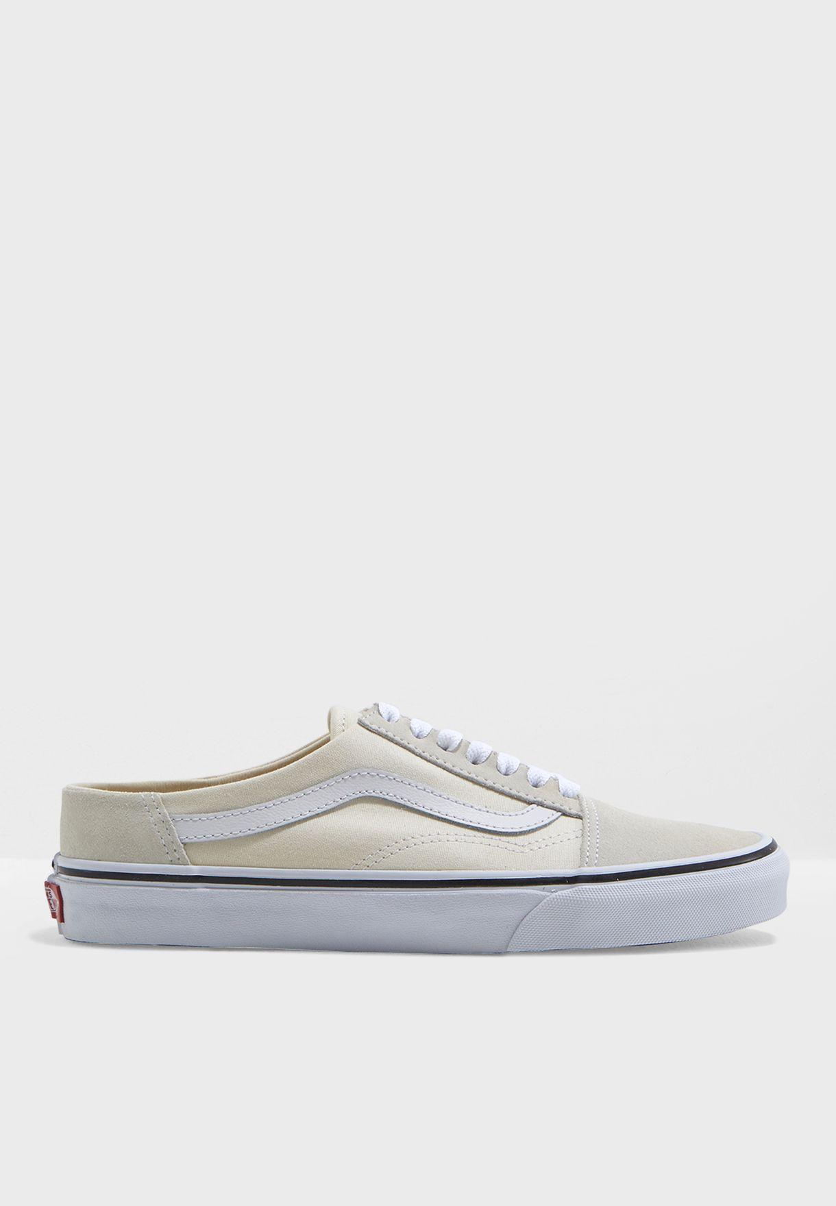 6d0205f2c1 Shop Vans white Old Skool Mule Sneakers MUSFRL for Women in UAE ...