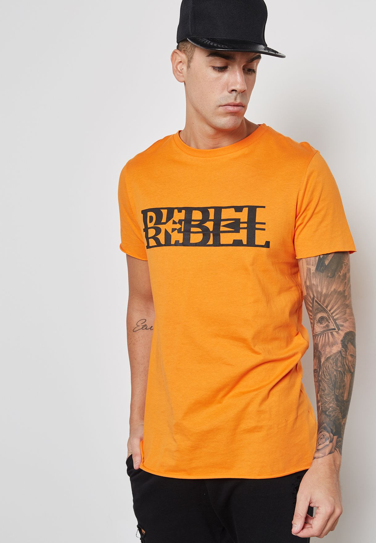 Rebel Print T-Shirt