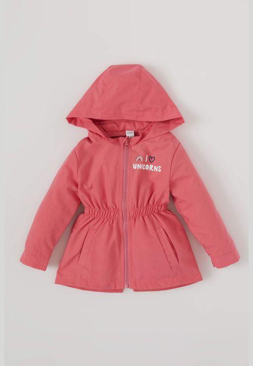 BabyGirl Regular Fit Coat