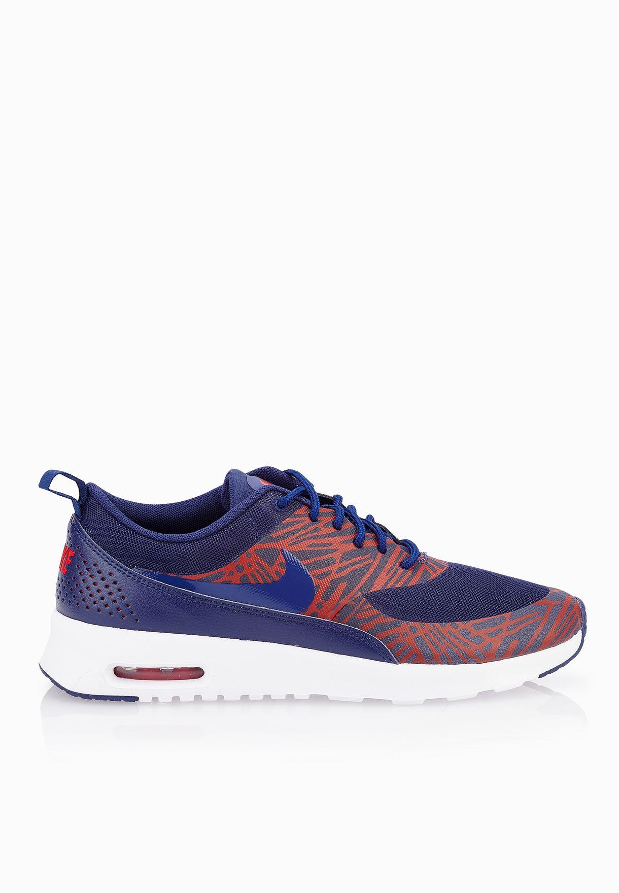 info for 34e2a 7b08b Shop Nike prints Air Max Thea Print 599408-402 for Women in Qatar -  NI727SH58XOV