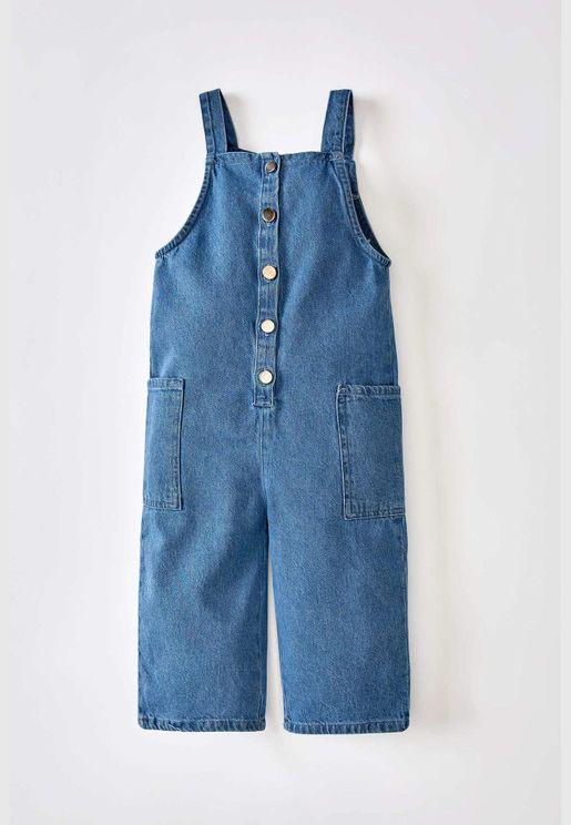 BabyGirl Regular Fit Overalls