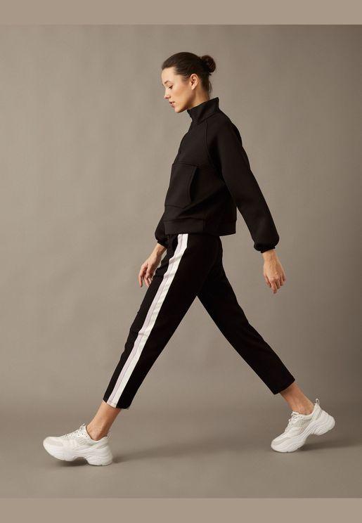 Banded Detailed Joggings Pants